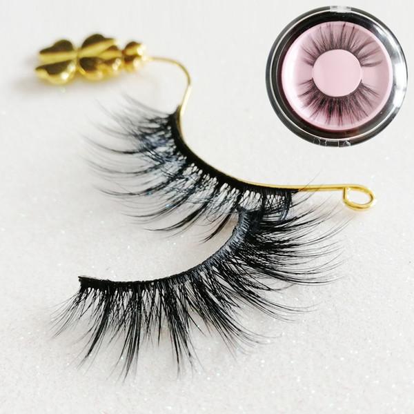 Best sale Private Logo Acceptable Fashion Lash Black Strip Fake Lashes faux human hair false lashes Natural Thick Soft Fake Eyelashes GR273