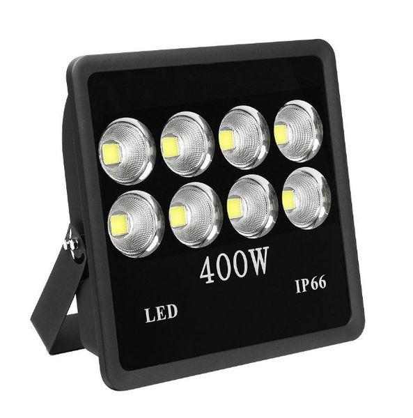400 watt Super Brilhante Ao Ar Livre de Alta Potência LEVOU Luz de Inundação com o Dispositivo Elétrico Luz Branca IP66 À Prova D 'Água 35000lum 85 V-265 V AC LLFA