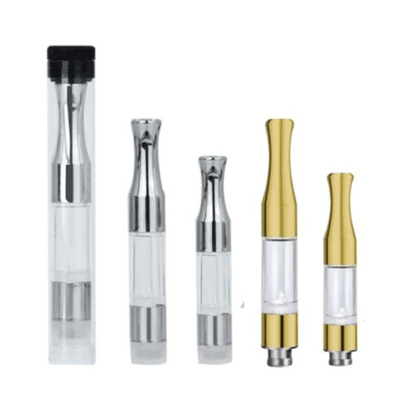 Top G2 BUD Touch 510 Cartridges Tank gold stainless steel drip tips co2 Thick Oil Vaporizer Atomizers CE3 O Pen vapor Mini cartomizers vape