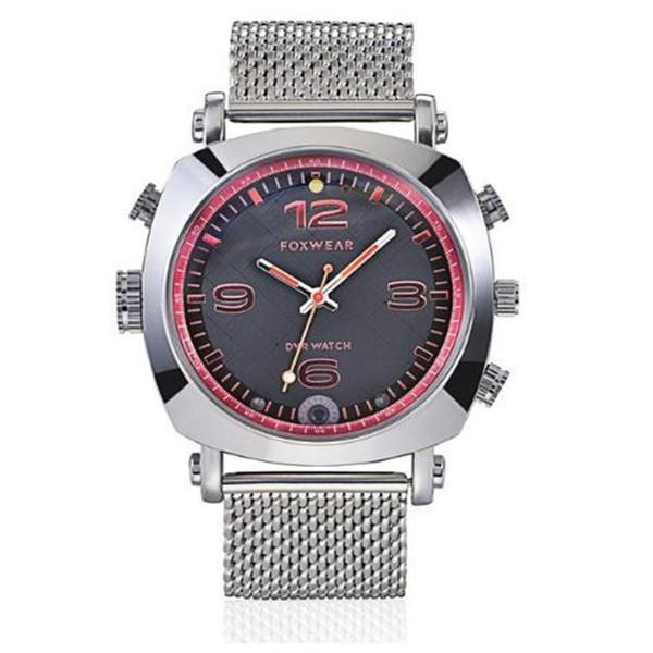 FOXWEAR F25 Video, das intelligente Armbanduhr-Recorder-Uhr mit heller Nachtsicht Fernbedienung Wifi LED für Android IOS fotografiert