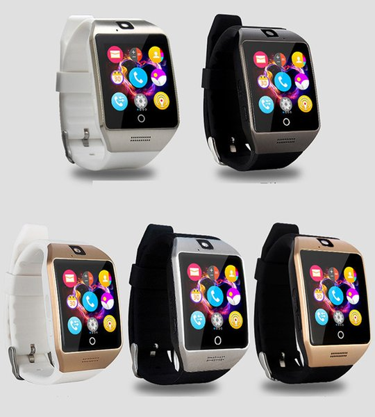 For Iphone 6 7 8 X Bluetooth Smart Watch Apro Q18 Sports Mini Camera For Android iPhone Samsung Smart Phones GSM SIM Card Touch free DHL