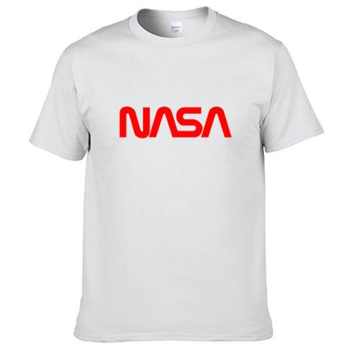 NASA Universum Raum Galaxy Rocket Zeit Reisen T-shirt Digitaldruck 201011 2018 kurzarm t-shirt männer mode marke design 100%
