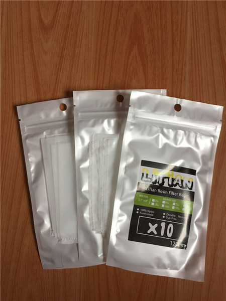 top popular 25 90 120 160 Micron 4 x 4 inch Rosin Press Filter Screen Mesh Tea Bags - 20 sheets 2021