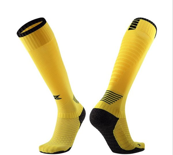 Men's long tube knee sweat-absorbent non-slip wristband brand-name sports socks new 1 from the wholesale and retail
