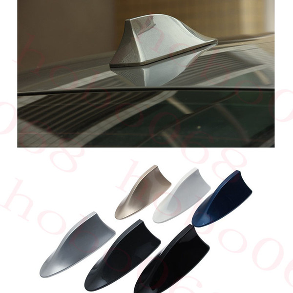 1pcs For Any Car Antenna Signal Decoration Shark Fin Replacement Sticker Roof 15.5cm x 9cm x 6cm