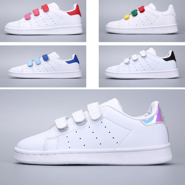 adidas stan smith niña velcro