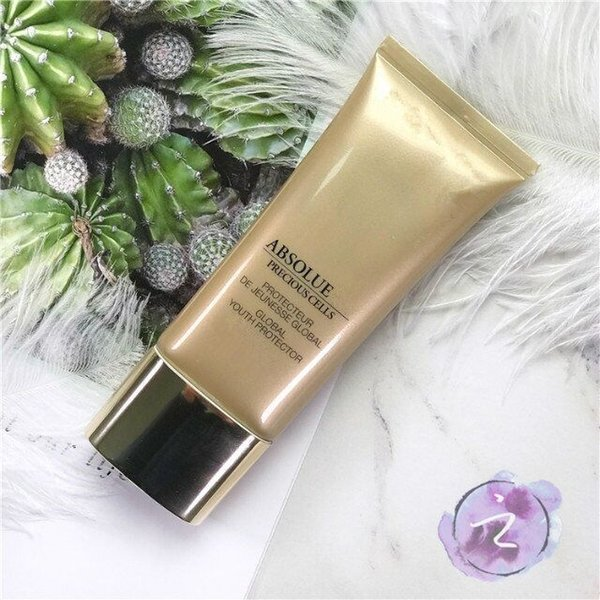 Top Quality With Best Price ! Famous brand Absolue UV Precious Cells 30ml Primer Cream Natural Faced Base Cover Makeup DHL Free Shipping