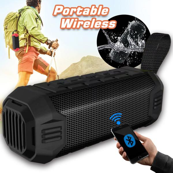 À prova d 'água Bluetooth Speaker Portátil Sem Fio Usb TF Sistema de Som 3D Música Estéreo Surround de Suporte Bluetooth Handsfree Pacote de Varejo