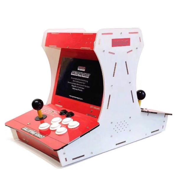 Mini bartop galopant fantôme Arcade GameDual Scree machine avec 10 pouces LCD 1388 jeux en 1 sortie HDMI VGA