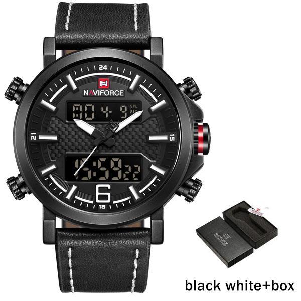 Black White with Box