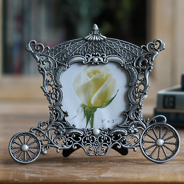 Metal Vintage Picture Frames Classic Picture Photo Frame Small Europe Style  Antique Mini Photo Frames Home Decor House Decorating House Decorating