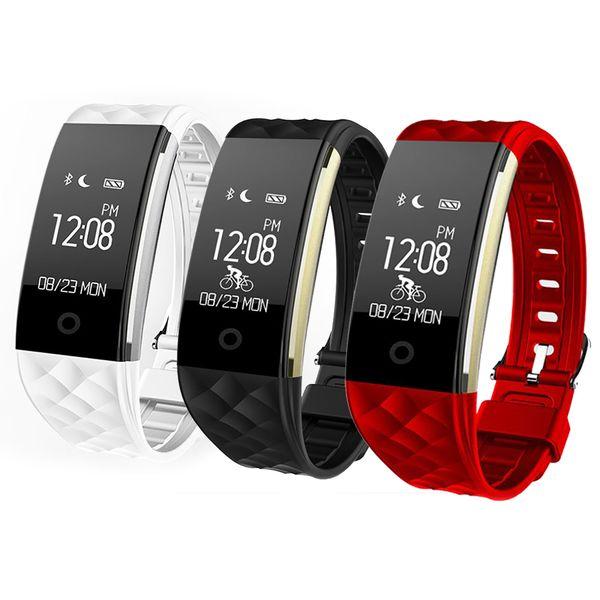 2018 S2 fitbit fitness tracker Heart Rate Monitor IP67 Waterproof S2 Smartband Step Counter Smart Watch Band Vibration Wristband