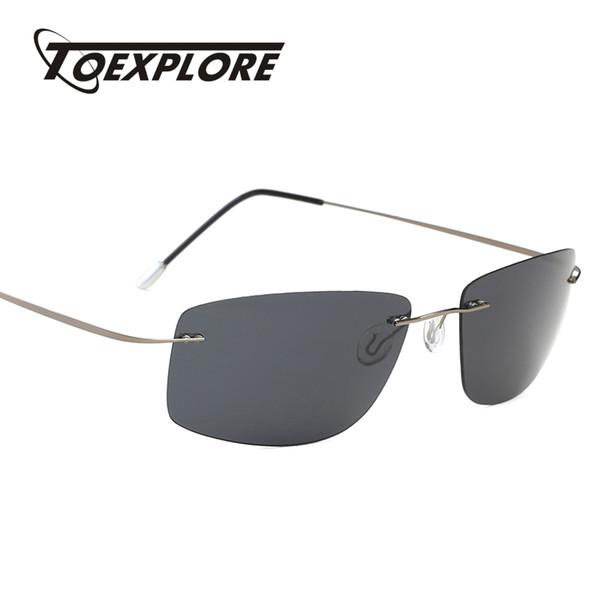 TOEXPLORE Polarized Men Anti-Glare Sunglasses Driving Eyewear Light Fishing Sun Glasses New Brand Designer High Quality UV400