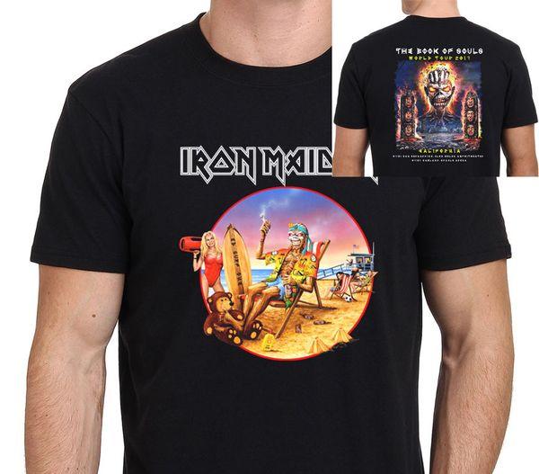 Evento de Iron Maiden en California Camiseta The Book Of Souls World Tour 2017 Sz: S-XXL
