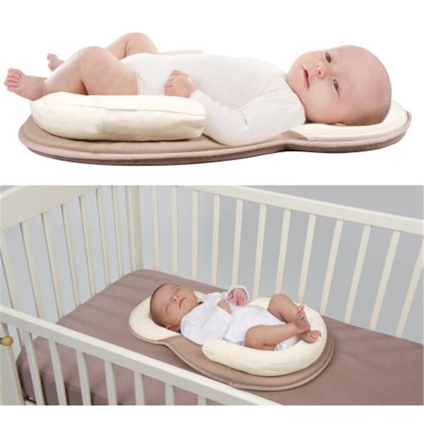 Newborn Baby Sleeping Mat Infant Baby Shaping Pillow Newborn Neck Protection Safe Cot Mattress for New Boy Girl Bedding Set