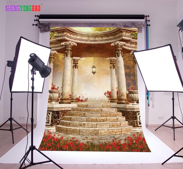 Thème de Pâques Conte de fées en vinyle Photographie Toiles de fond Props Fond de studio photo numérique imprimé TTZP-13