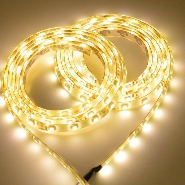 Wireless Motion Sensor lamp LED Strip Under Bed light Under Cabinet light Night light Closet Wardrobe Stairs Door light(warm white)