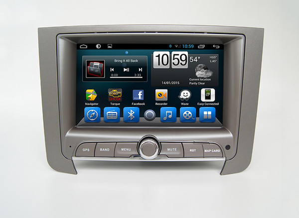 Android Car DVD GPS Multimedia Player For Ssangyong Rexton W 2013 Built in Wifi and 3G, fast speed surfing