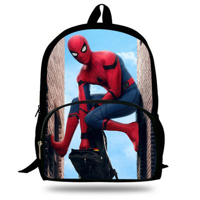 16inch Marvel Avengers SchoolBag Girls Bookbag School Backpack for Boys  Travel Bag Child Gift 739dfe6826483