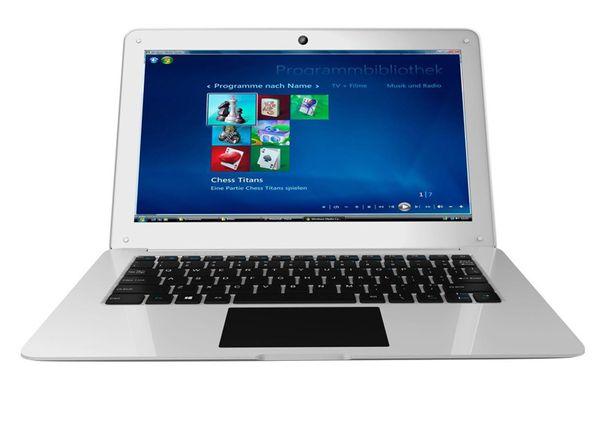 top popular 2018 VIA 1288A Cortex Quad Core 1.5GHZ allwinner 12.5A64 1GB ram 16GBr MINI Netbook Laptop with WIFI Ethernet External HDMI 1080P Laptop OEM 2020