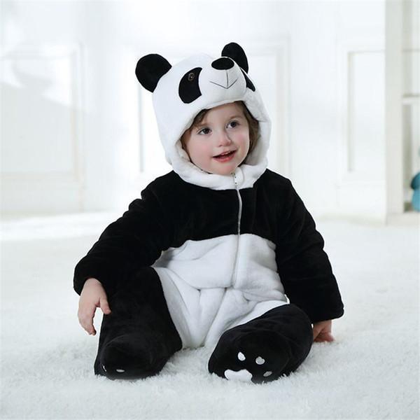 Acheter Bébé Combinaison De Dessin Animé De Panda Barboteuse Performance Mignonne Escalade Vêtements Pour Bébé De 6 36 Mois De 28 69 Du Max4072