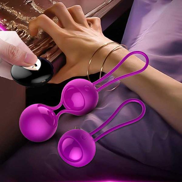 FOX Smart Remote Control Vibrators Kegel Exercise Vaginal Balls Vibrating Egg 20 Meter Control Distance Adult Sex Toys for Women S19706