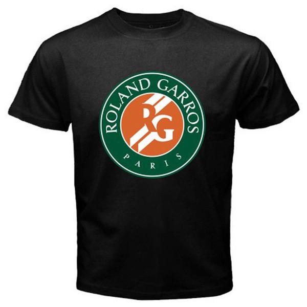 Magliette di qualità Maglietta di moda O-Collo da uomo Roland Garros Magliette