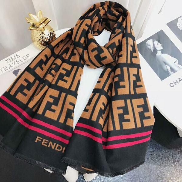 Foulard de marque: foulards en cachemire à la mode de haute qualité, foulards épais de luxe en imitation cachemire, 180 * 70 cm
