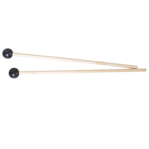best selling Wholesale 5X 2 x Hardwood Glockenspiel Mallets Sticks Rubber Head