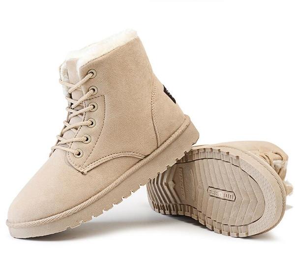 Winter Cotton Boots .Women Warm Cotton Boots . Women's Casual Boots