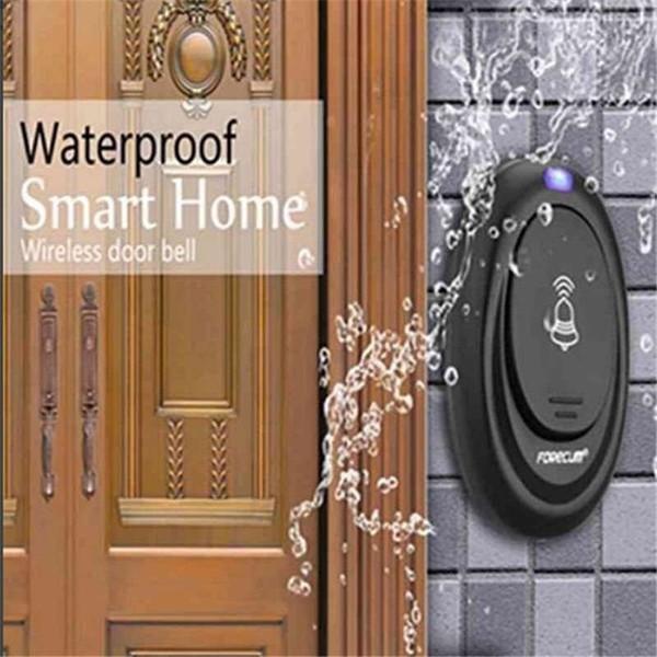 Timbre de puerta inteligente de control remoto inalámbrico nuevo para el hogar Timbre de puerta inteligente con 36 carillones (UE, enchufe de EE. UU.)