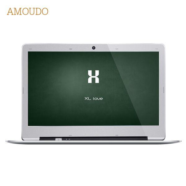 Amoudo-S3 14 inch 8GB Ram+120GB SSD+1TB HDD Intel Pentium Quad Core Windows 7/10 System Fashion New Laptop Notebook Computer