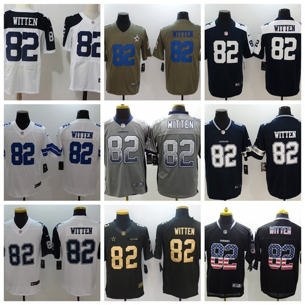pretty nice 51977 55926 2019 Mens 82 Jason Witten Dallas Jersey Cowboys Football Jersey 100%  Stitched Embroidery Jason Witten Color Rush Football Stitching Jersey From  ...