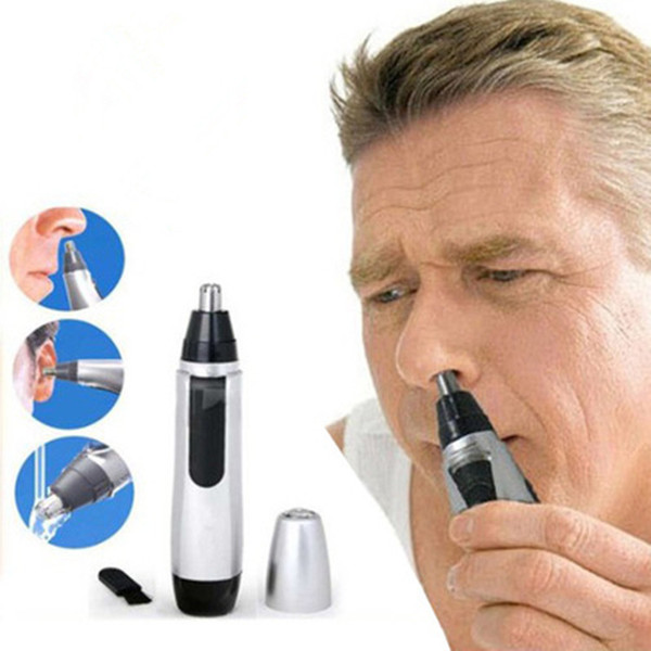 Hot Electric Nose Ear Face Hair Removal Trimmer Shaver Clipper Cleaner Remover Health & Beauty Free Shipping