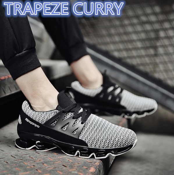 New listing hot sale men summer Flying line Breathable running shoes sports shoes