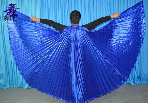 Royal blue wings