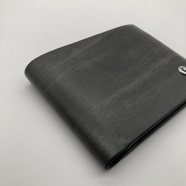 New fashion luxury men's leather short clip wallet clip MT wallet MB designer wallet credit card holder pocket photo M B advanced box