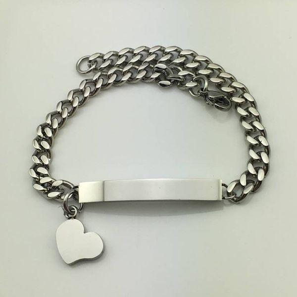 Bracciale a maglie in acciaio inossidabile