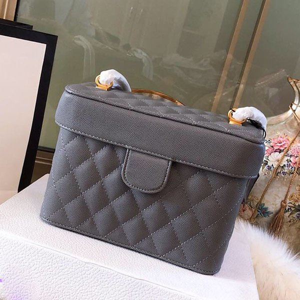 women shoulder messenger bags lattice quilted brand bag luxury designer leather handbags fashion ladies chain mini Cosmetic bag high quailty