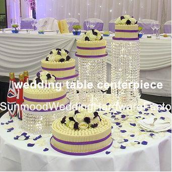 New style crystal acrylic beaded wedding centerpieces flower stand table decor for wedding event party decoration best00050