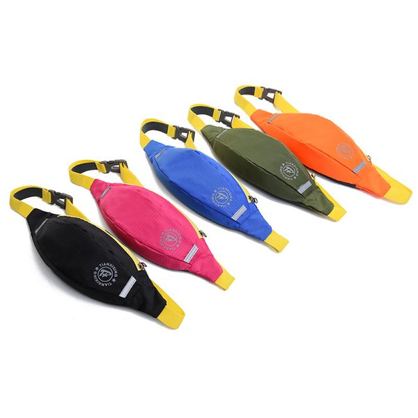 Multi-functional running fanny pack male and female mini mini invisible waterproof fanny pack outdoor kettle mobile phone fanny pack