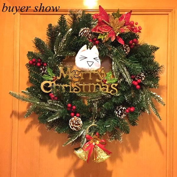 Wholesale-High Quality 50Pcs Christmas Party Bell 15cm Golden Jingle Bell with Sound Gold Plated Chrismtas Holiday Ornaments Decoration