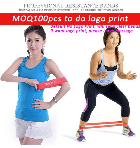 Kalite kauçuk direnç bantları set spor egzersiz elastik yoga yoga için pilates band band crossfit vücut geliştirme egzersiz kilo kaybı