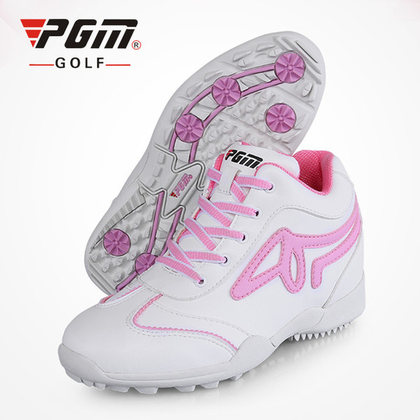 PGM Golf Shoes Women 5.5cm Wedge Heel Sports Shoes Brand Women Golf Shoes Eva Sneakers Anti-Skid Breathable Women's Golf Shoes