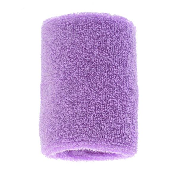 Vertvie Tennis Squash Wristband Sweatband Gym Yoga Wrist Sweatband Support Cotton Weightlifting Wrist Wraps Tennis 8.3x7.9cm