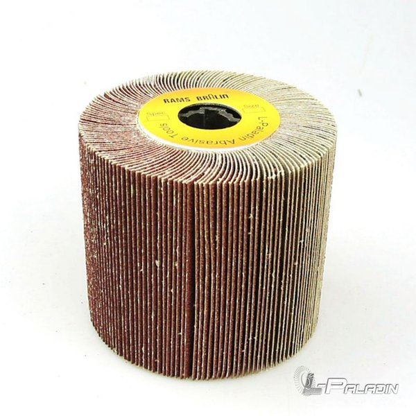 1 piece 120*100*19mm Emery Cloth Mop wheel Striping Wheel P40 - P600 for Metal Polishing