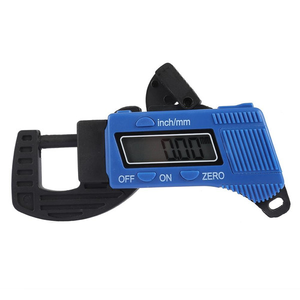 LCD Display Digital Thickness Gauge 0.01mm Mini Thickness gauge Caliper Meter Carbon Fiber Composites Width Measure Tool Free Shipping VB