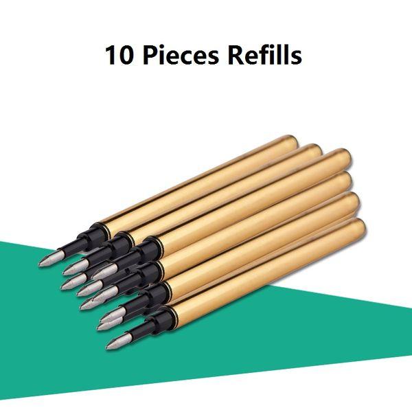 10 Stück Minen Schwarz