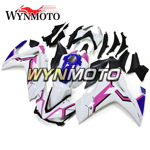 Motorcycle Body Kit Pink White Blue ABS Injection Bodywork For Yamaha R25/R3 2015 - 2016 Year 15 - 16 Complete Fairing Kit Body Kit Cowling