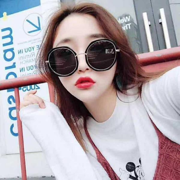 Compre Moda Popular 0129 Marca Diseño Mujeres Chanel Gafas De Sol ...
